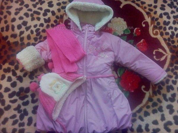 пальто для девочки 3 5 очень теплое на овчине