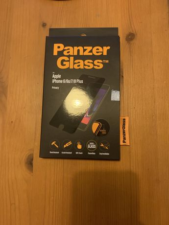 Pelicula vidro Panzer Glass Privacy - iPhone 6/6s/7/8 Plus