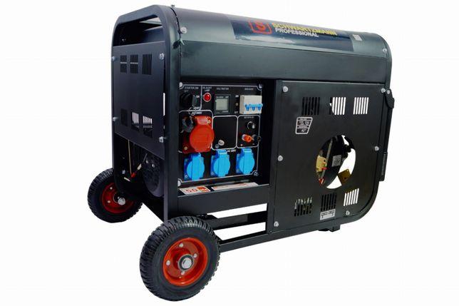Agregat prądotwórczy - trójfazowy - diesel - 9,5kW - 13KM - AVR - SCH-