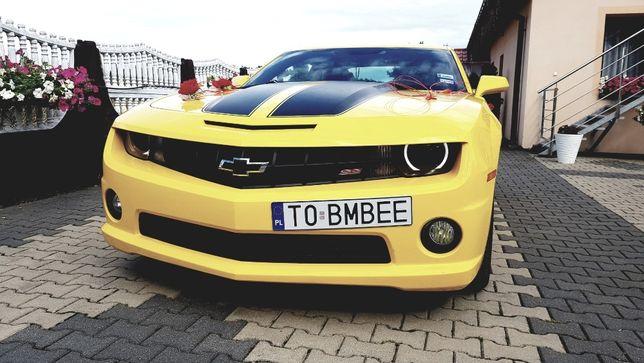 Auto na ślub Camaro Bumblebee Transformers Chevrolet V8 AutoPrezent