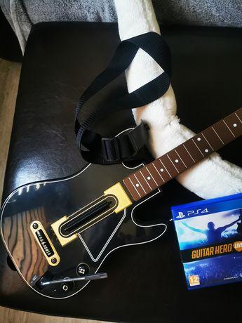 Guitar Hero live Gitara plus gra ps4