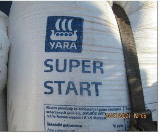YARA SUPER STAR Nawóz 500KG 3TONY GRATIS Tarnów kukurydza ziemniak