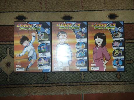 DVD's Oliver e Benji (ep. 1 a 11)