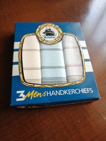 3 lenços de homem