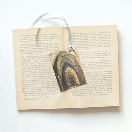 historia zakłaadka do książki, zakładka mała, zamek zakładka do książk