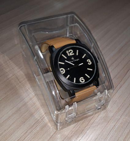 Zegarek stylowy Czarno - karmelowy