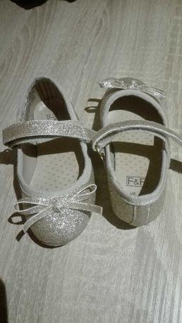Zlote buciki,zlote balerinki, rozm.22, F&F