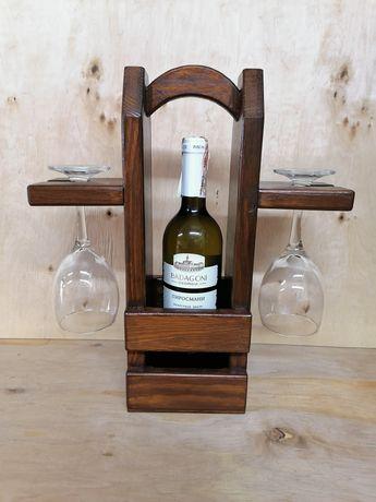 Подарочный футляр для вина и бокалов