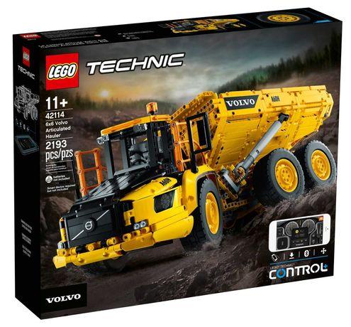 LEGO 42114 - Technic 6x6 Volvo Articulated Hauler