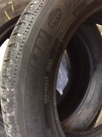 235/55/18 Michelin 5.5mm пара