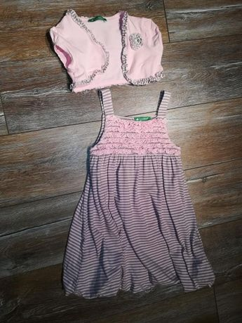 Sukienka z bolerkiem 116