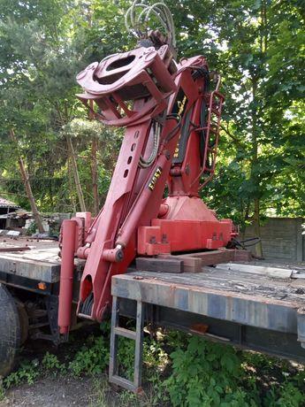 HDS do drewna z rotorem i chwytakiem