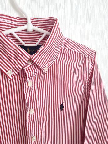 Рубашка POLO ralph Lauren (как Burberry) . 128-134 8 лет