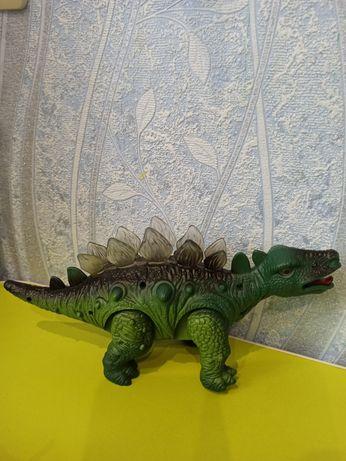 Динозавры резиновые большие