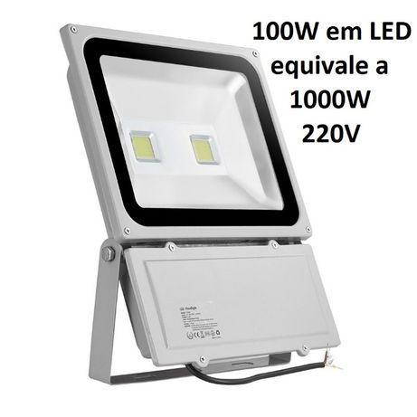 Projector Luz LED 100W Holofotes projetores projetor holofote