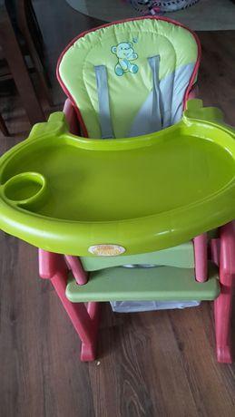krzeselko do karmienia wymienie na 2 paczki pieluch