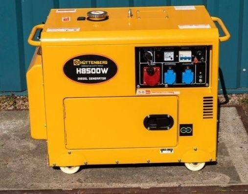 Gerador Diesel H8500W - 8.5Kwa