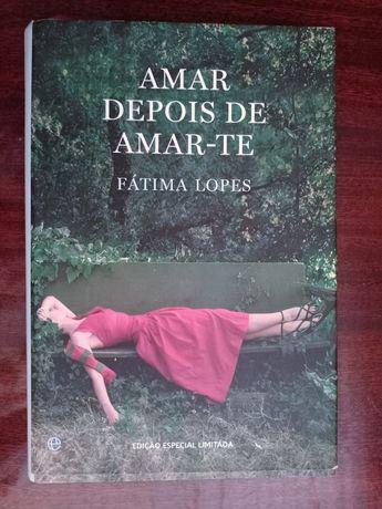 """Livro """"Amar depois de amar-te"""""""