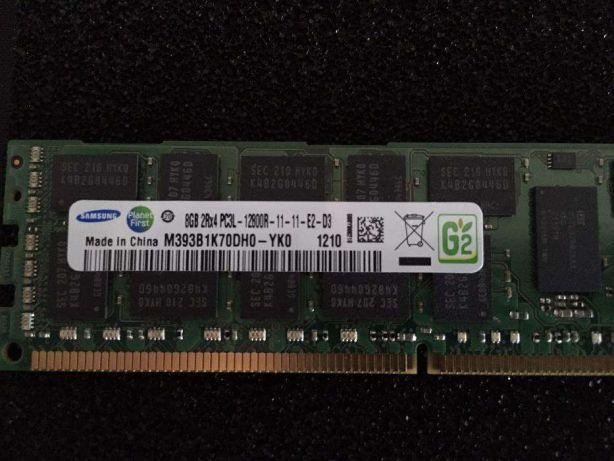 Memórias RAM 8GB 2Rx4 PC3L 12800R