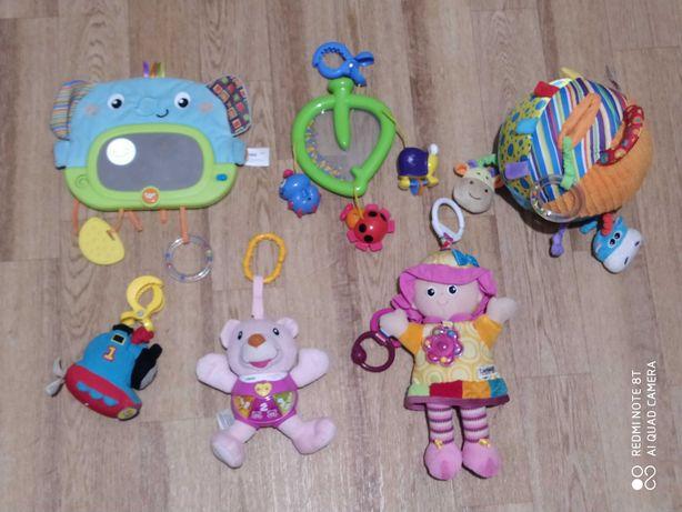 игрушки подвески Lamaze vtech Fischer price