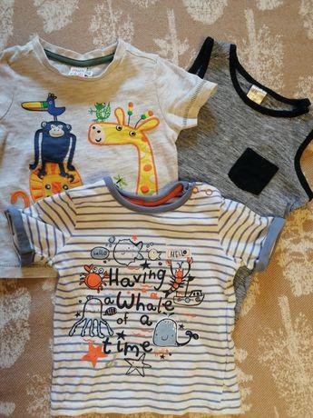 Комплект футболок для мальчика 9-12М