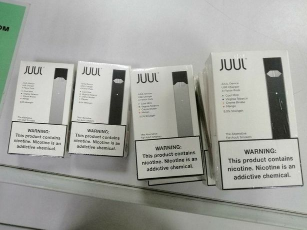 Электронная сигарета JUUL Starter Kit 4 Pods/Джул