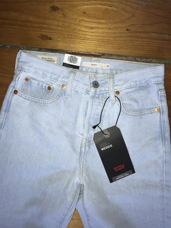 Levi's Wedgie 25 jeansy