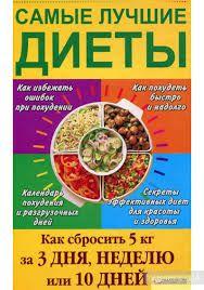Все о книге Самые лучшие диеты. Как сбросить 5 кг за 3 дня