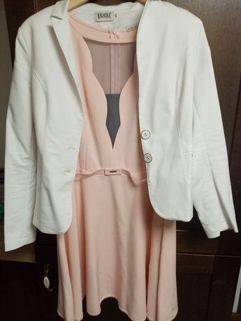 Sukienka + marynarka damska