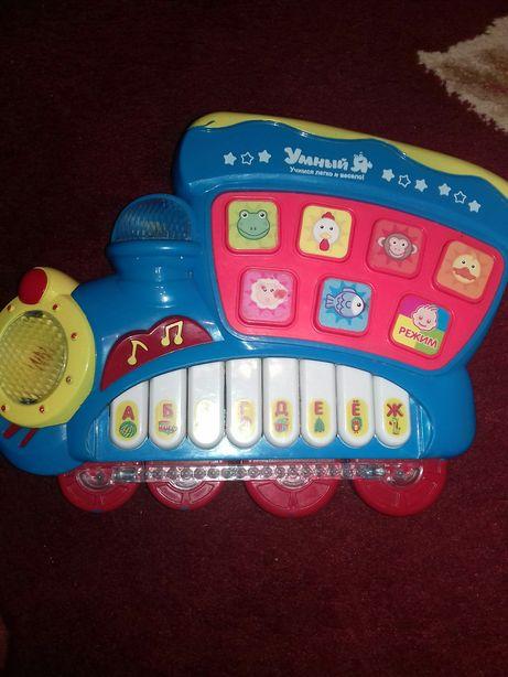 Игрушки игрушки музыкальные развивающие говорящая азбука букваренок