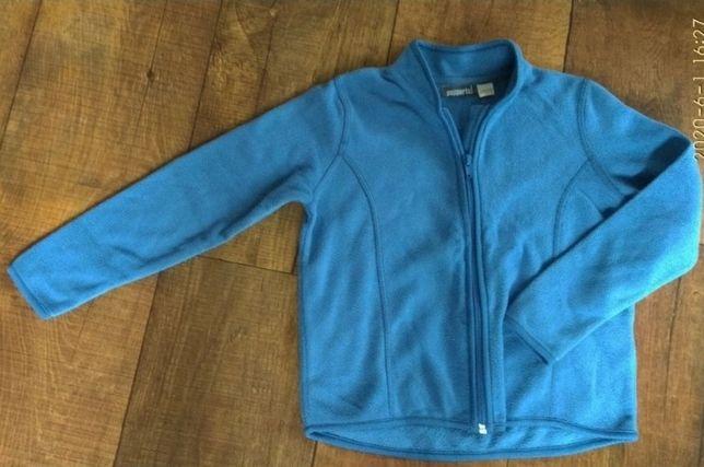 Флисовая кофта 4- 5-6-7л 110-116-122см мальчик девочка джемпер тёплая
