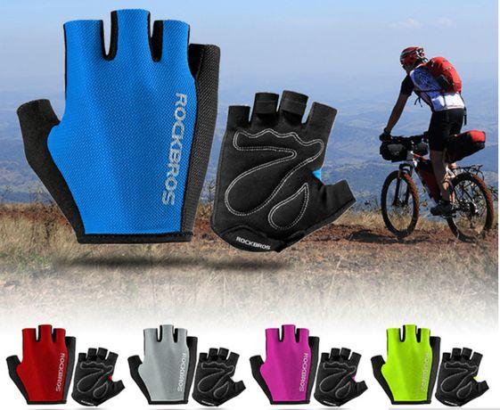 ПРЕМИУМ перчатки без пальцев ROCKBROS S099 велоперчатки вело велосипед