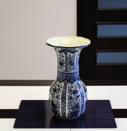 Duży wazon z Delft, porcelana Holandia