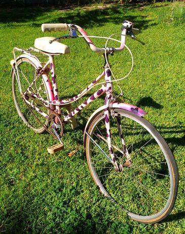 Bicicleta antiga órbita menina roda 26