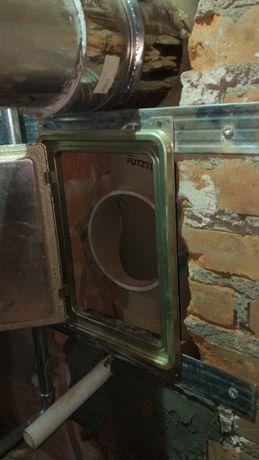 Diamentowe Frezowanie kominów montaż systemów kominowych wkładów