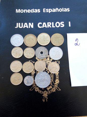 Монеты Испании.