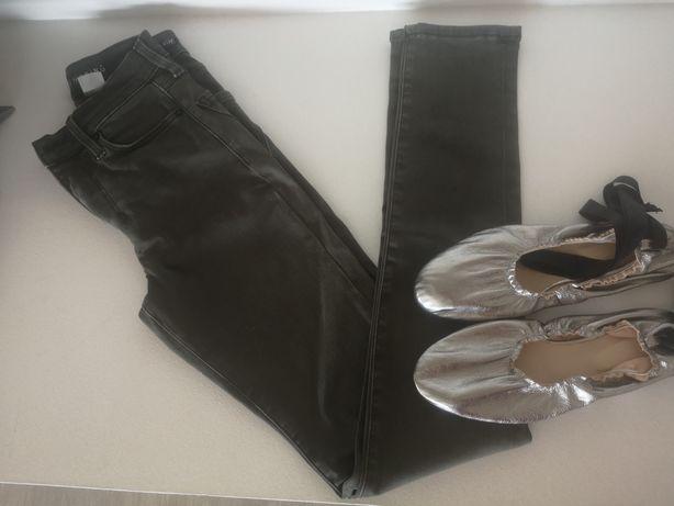 Macacão zara, sabrinas zara e calças H&M