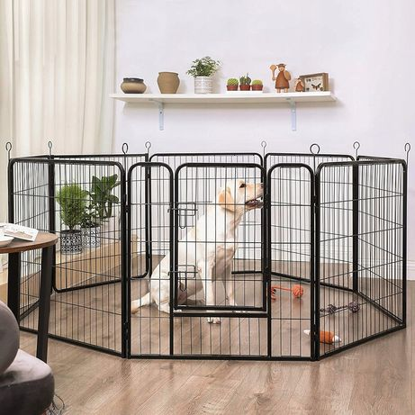 манеж ограда маленькие и большие щенки