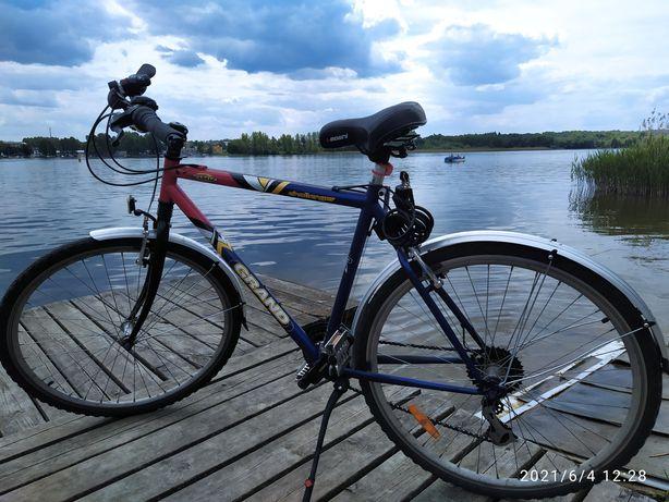 """Rower Grand na kole 28"""" wysoka rama amortyzowany przód"""