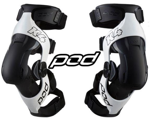 Ортопедические наколенники POD Active K4 MX 2.0 Knee Brace Мото брейсы