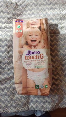 Продам памперсы-трусики Libero touch 6