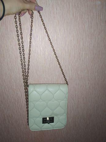 Новая женская сумочка через плечо