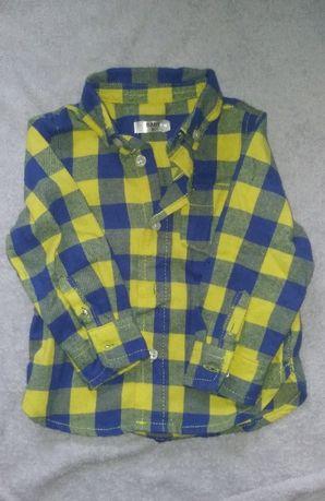 Koszula flanelowa 80
