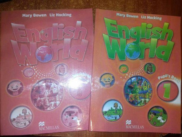English World 1 Английский учебник и рабочая тетрадь