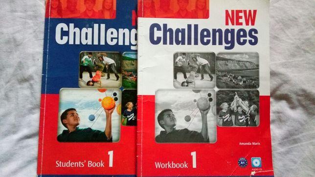 Учебник и тетрадь английский New Challenges 1, Оксфорд