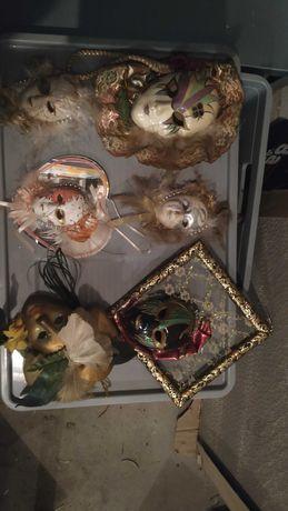 Maski weneckie dekoracyjne