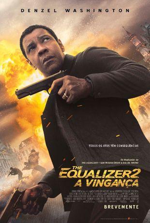 """Poster do Filme """"THE EQUALIZER 2 - A VINGANÇA"""" 98x68 (CxL)"""
