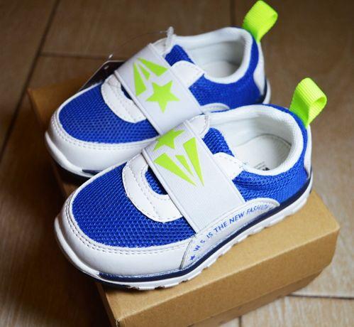 Новые легкие кроссовки Weestep (слипоны) для мальчика 25-26 р