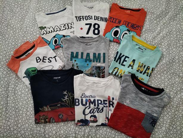 Lota de 9 t-shirts