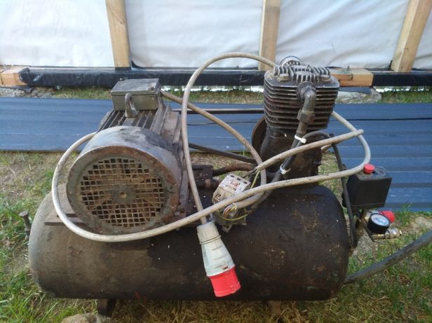 Kompresor olejowy sprawny